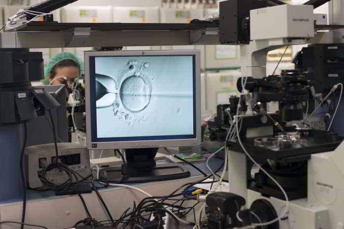 Inyección Intracitoplasmatica (ICSI)