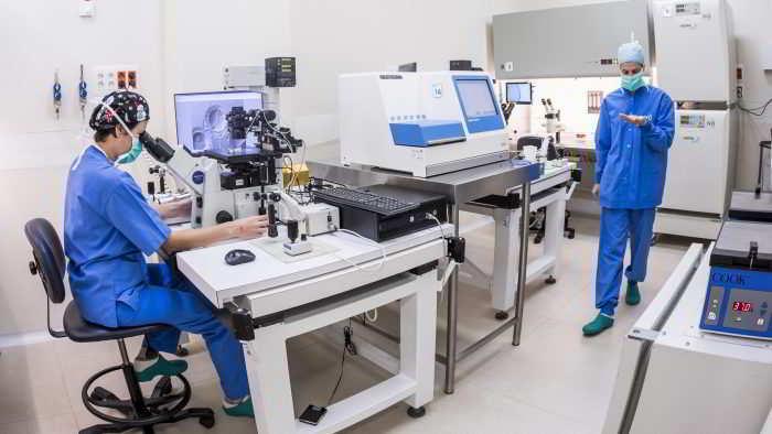 Préparation de l'endomètre