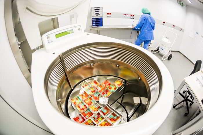 laboratoire de préservation de la fertilité