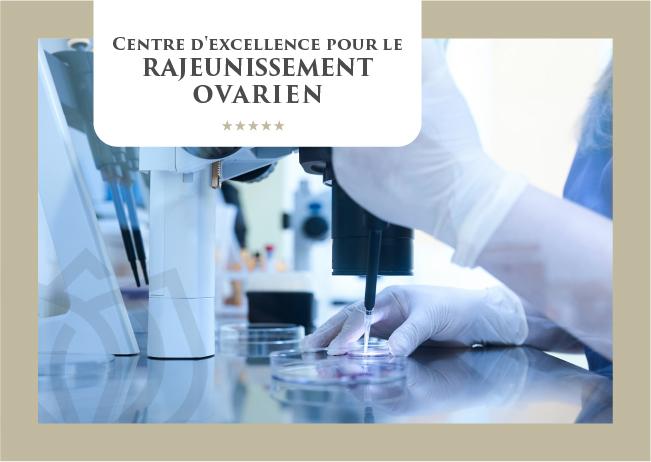 Centre d'excellence pour le rajeunissement ovarien